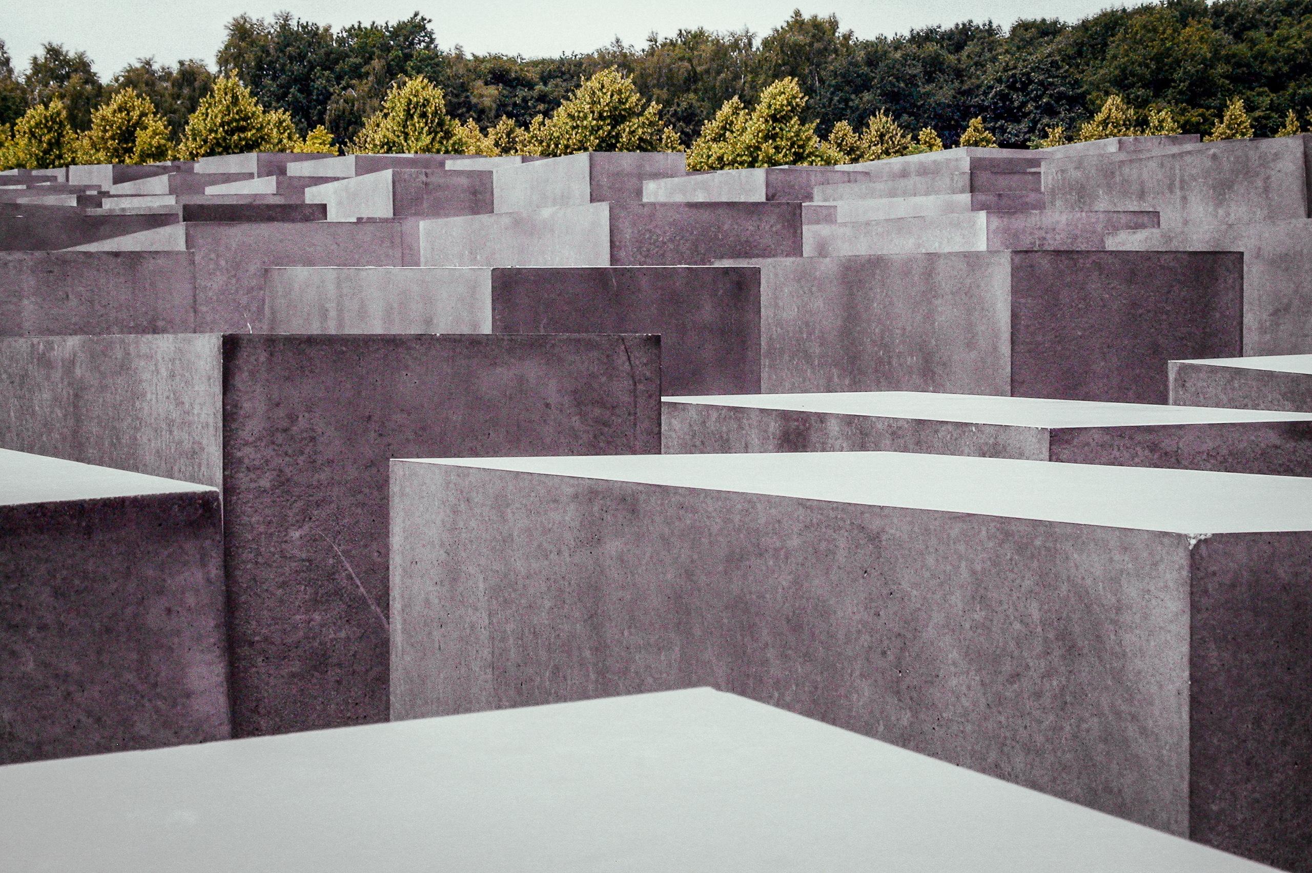 Memorial To The Murdered Jews Of Europe - Holocaust Memorial
