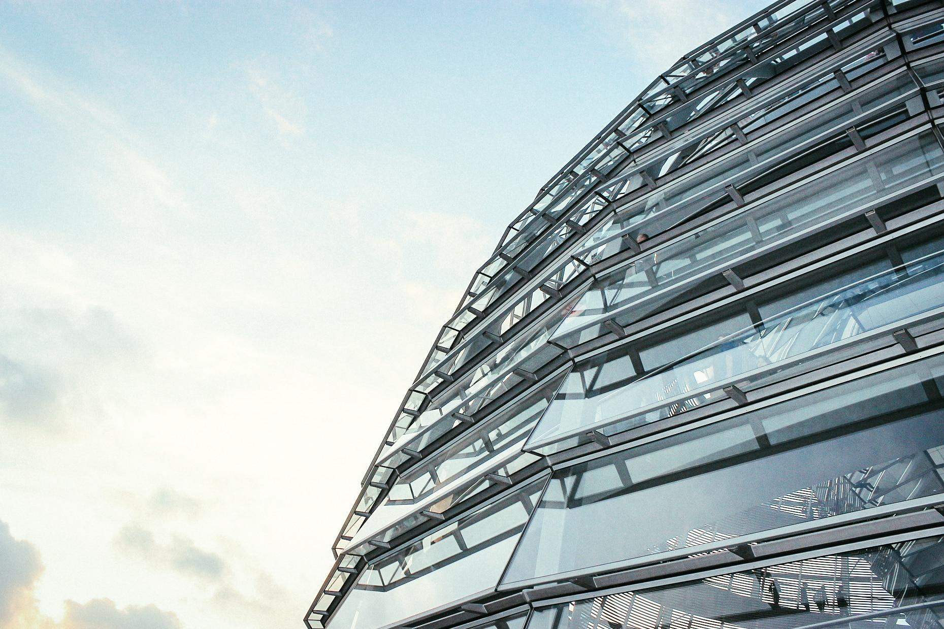 Reichstag Building Sunshine