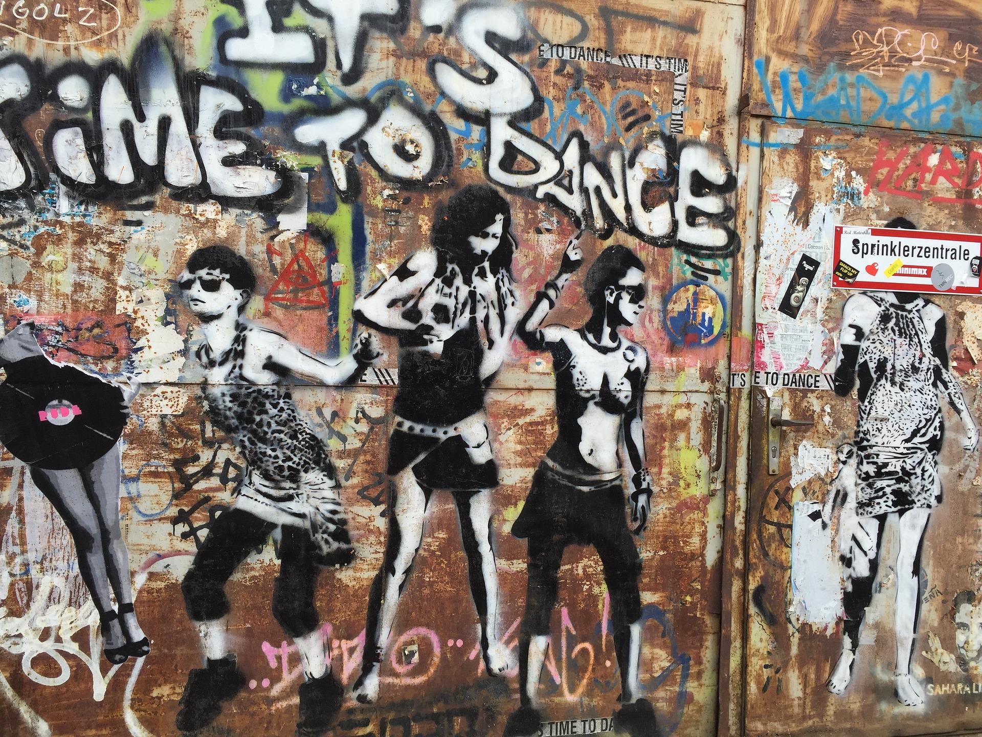 Grafitti And Street Art In Berlin