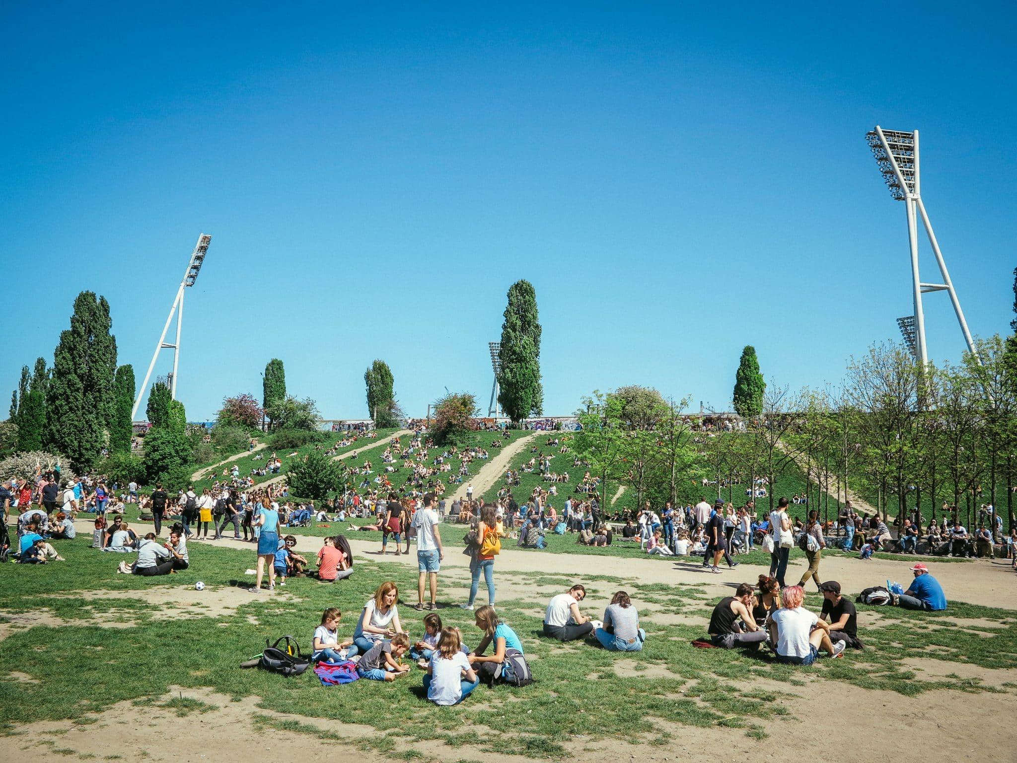Mauerpark in Prenzlauer Berg