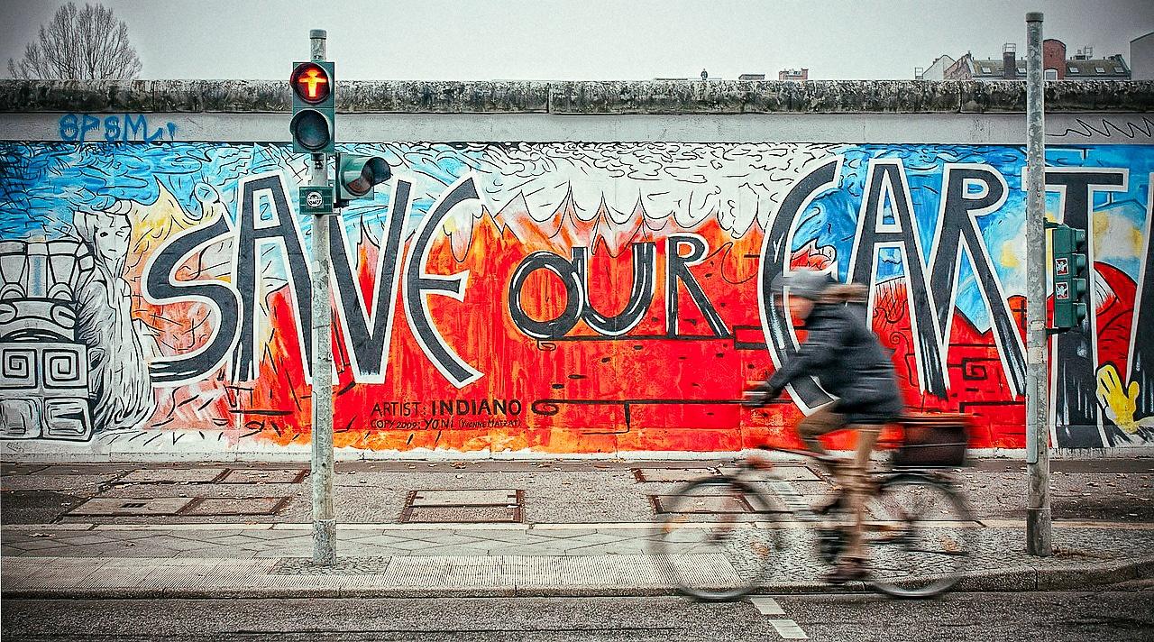 Berlin Wall East Side Gallery Graffiti