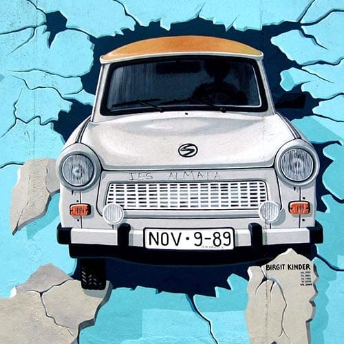 Berlin Wall Ride - Graffiti on the East Side Gallery