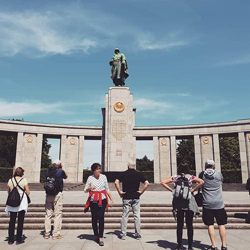 Third Reich Tour Berlin - Soviet Memorial Tiergarten