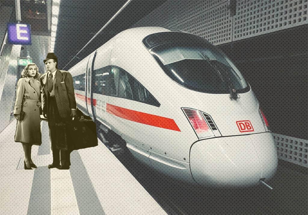 A Berlin Train Station