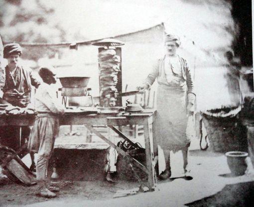 First Photo Ever Döner Kebab