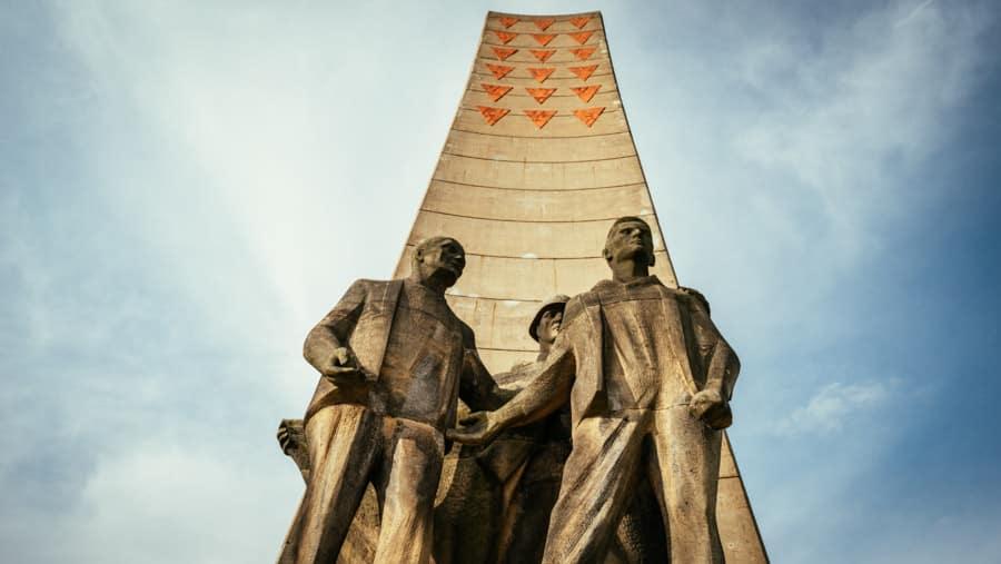 Sachsenhausen Obelisk - Day Trip from Berlin