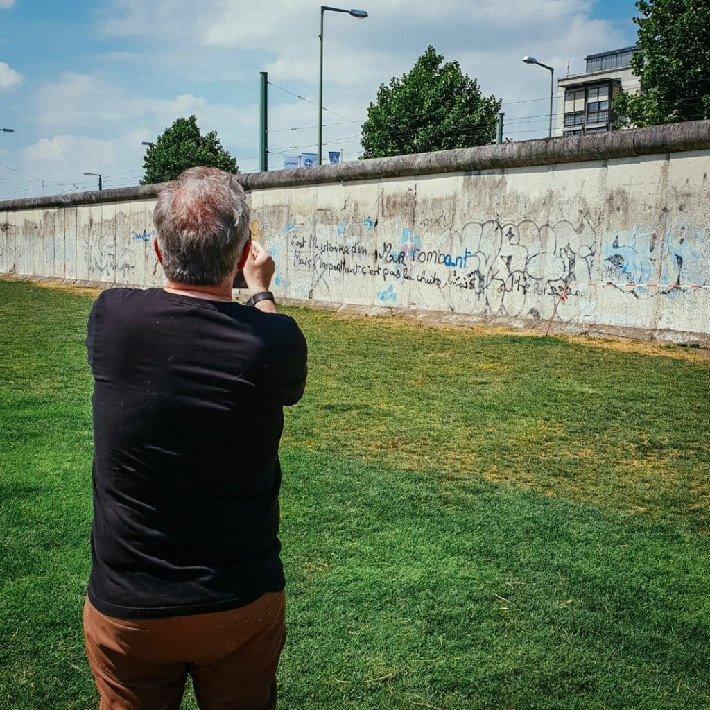 Visiting The Berlin Wall