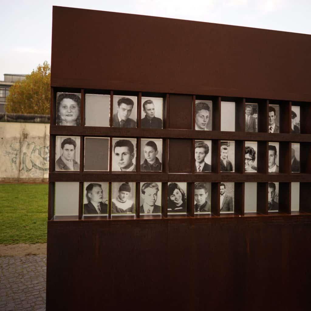 Berlin Wall Memorial - Victims of the Berlin Wall