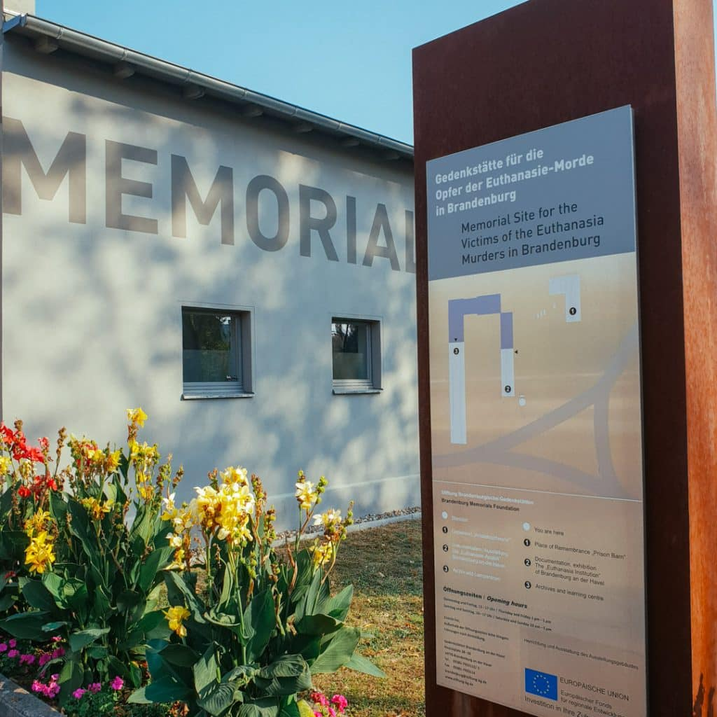 Memorial Site for the Victims of the Euthanasia Murders in Brandenburg