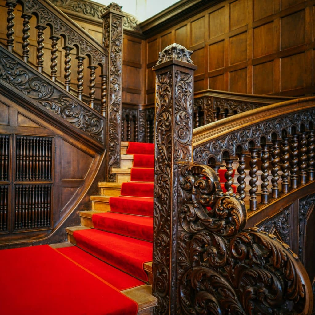 Staircase Inside Potsdam Cecilienhof