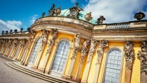 Frederick the Great's palace - Potsdam Sanssouci