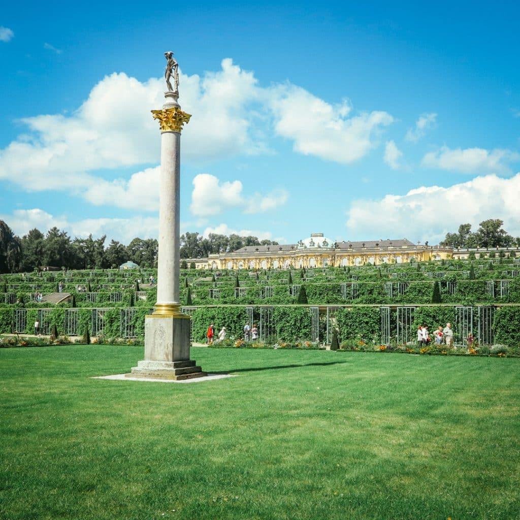View of Potsdam Sanssouci