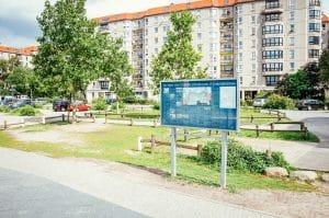 Site of the Führerbunker - Hitler's Chancellery Gardens