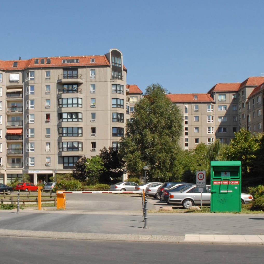Parking Lot In Berlin where Hitler's Führerbunker was