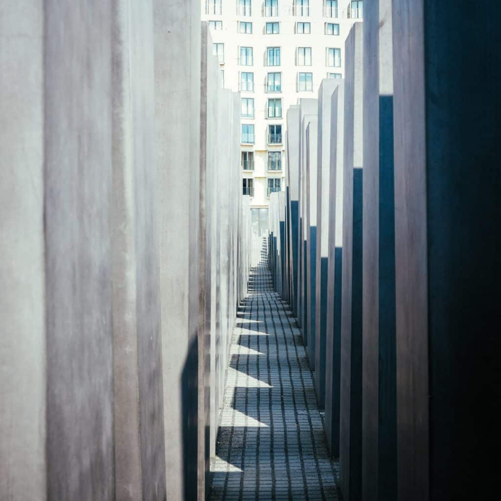 Inside the Memorial to the Murdered Jews of Europe