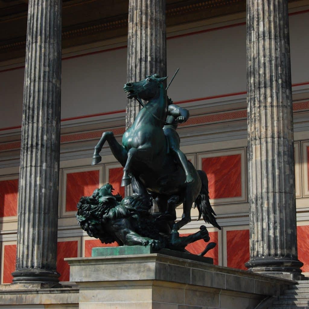 Altes Musem on Berlin's Museum Island