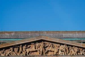 Frieze on the top of the Neue Wache