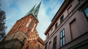Exterior View of the Nikolaikirche