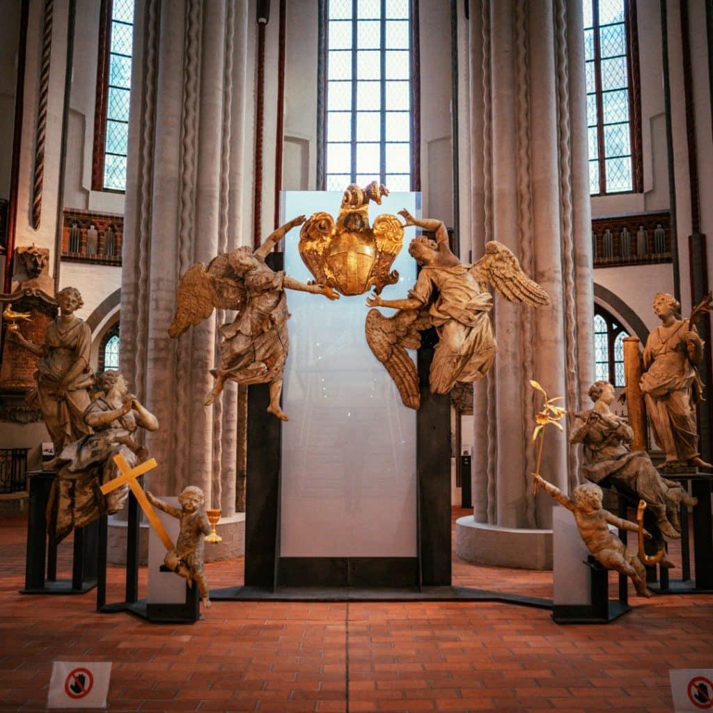 Angels Inside the Nikolaikirche