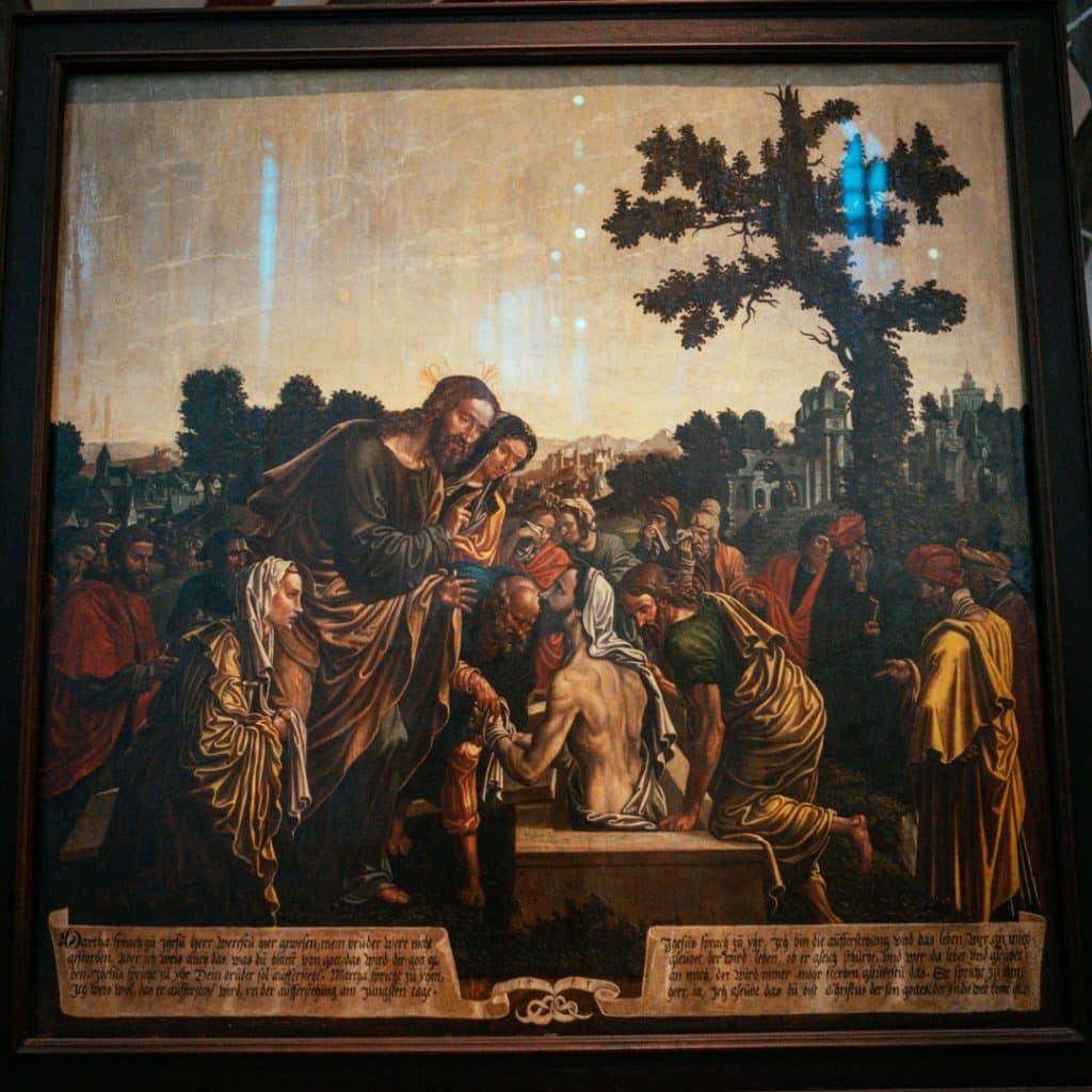 Painting in the Nikolaikirche