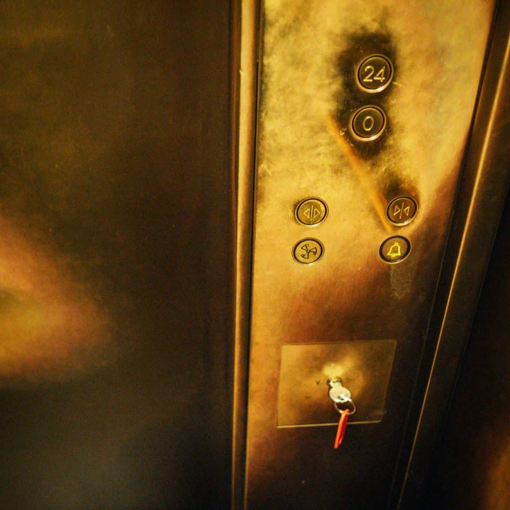 Inside the fastest elevator in Europe
