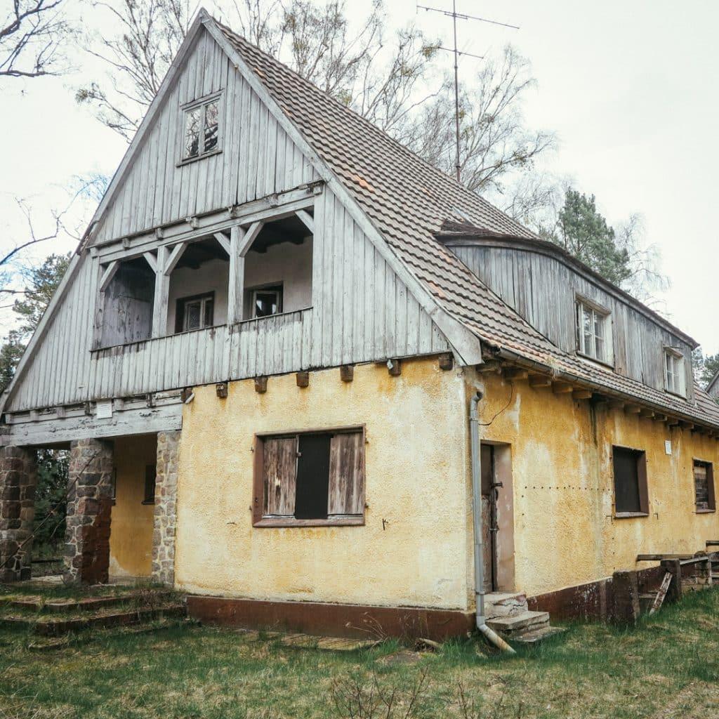SS housing at Ravensbrück Concentation Camp