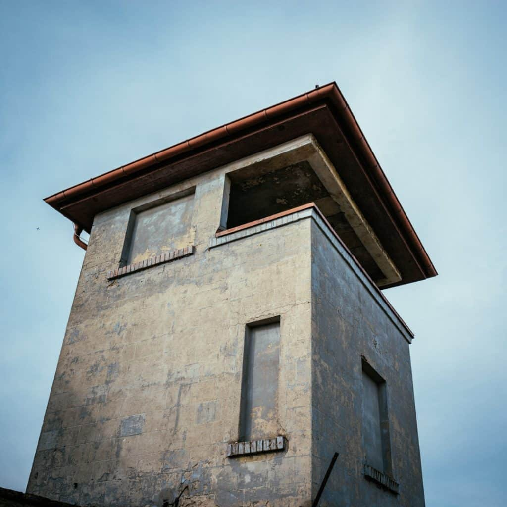 Watchtower at Sachsenhausen Concentration Camp