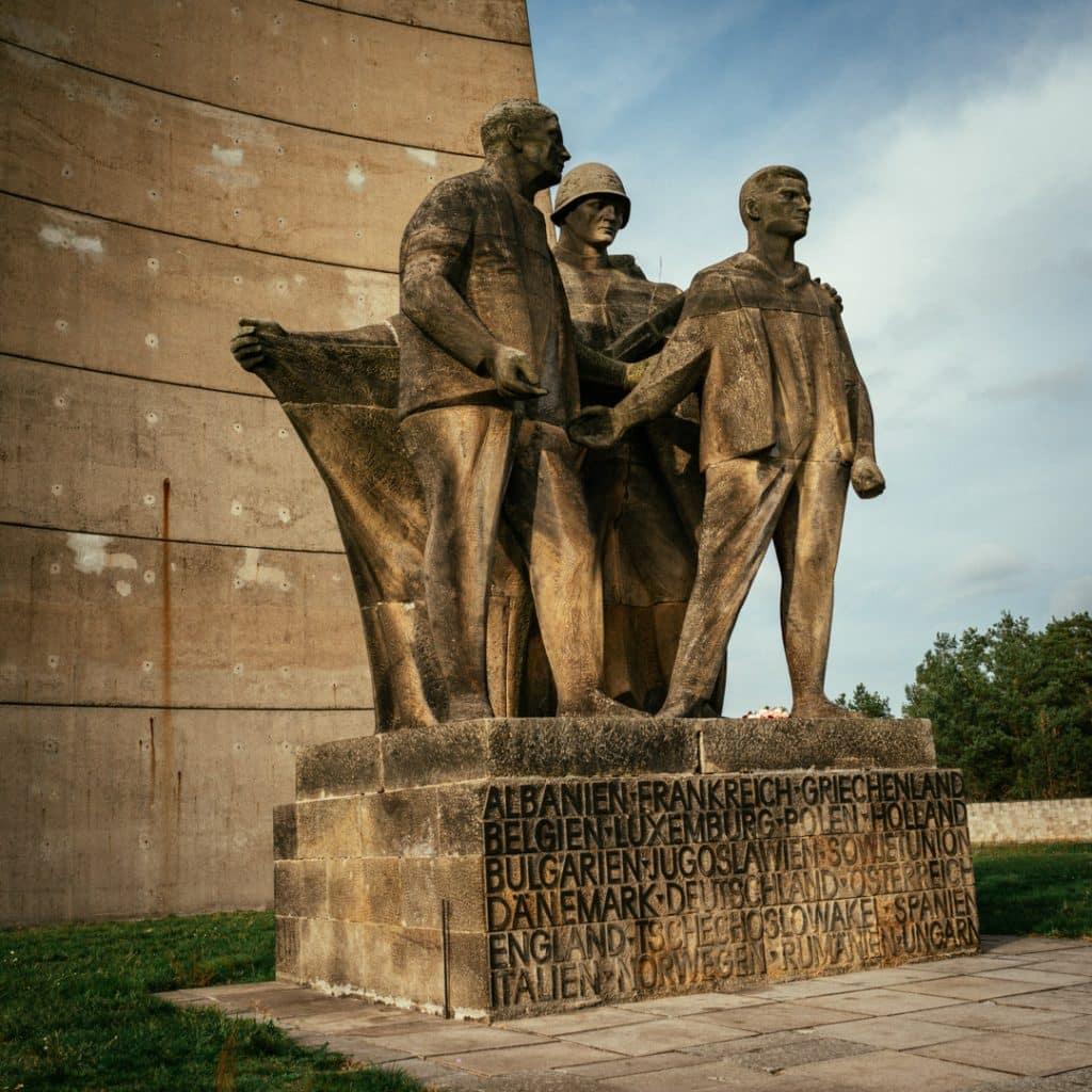 East German Memorial at Sachsenhausen Concentation Camp