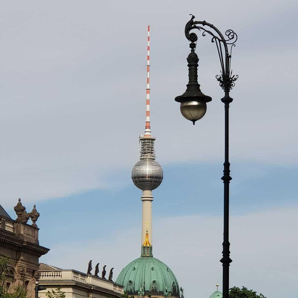 Unter den Linden view of Alexanderplatz