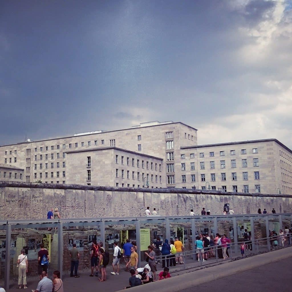 Berlin Wall and Nazi Aviation Ministry