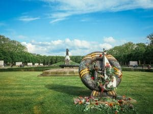 Soviet War Memorial Treptower Park - View of Graves