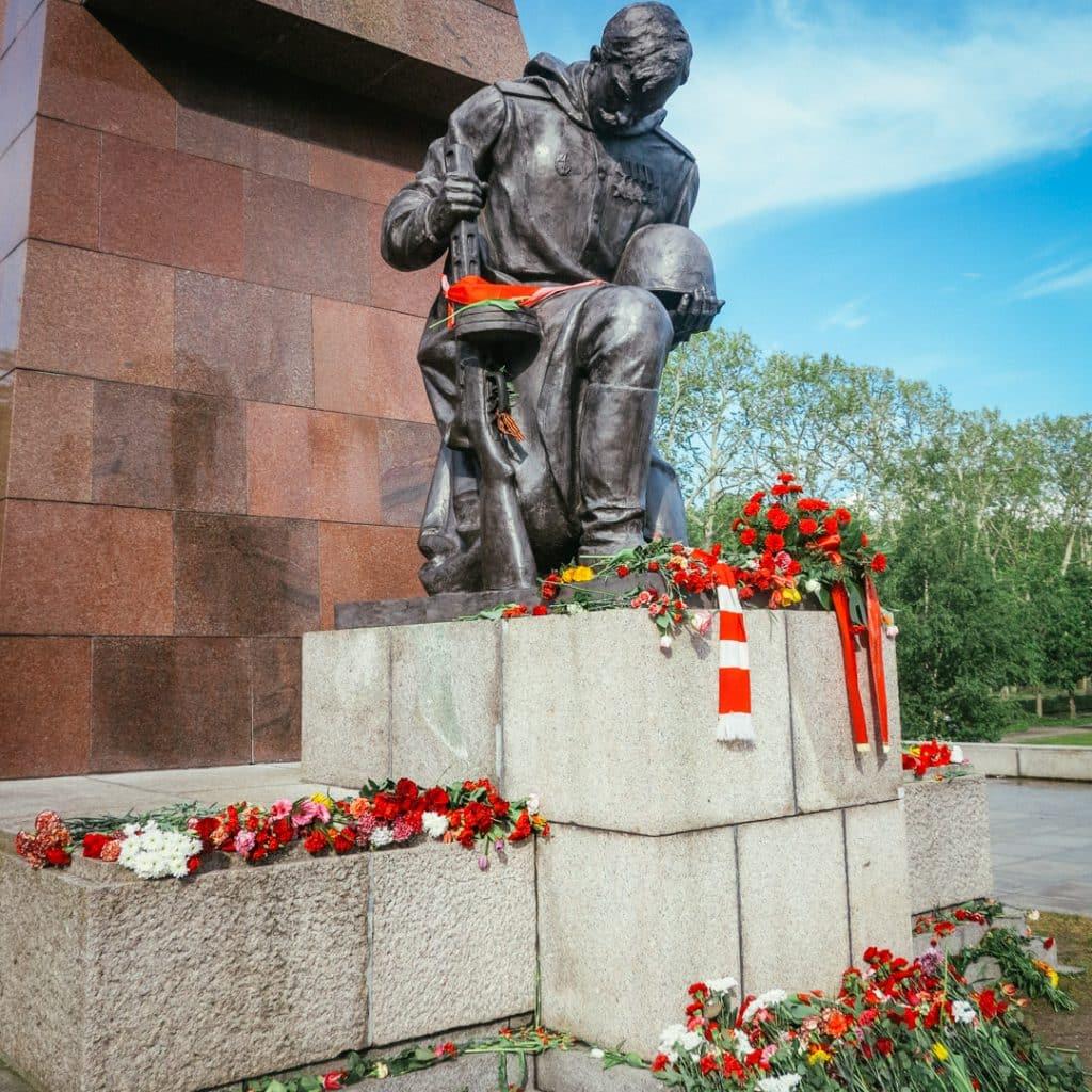 Soviet Soldier at Treptower Park