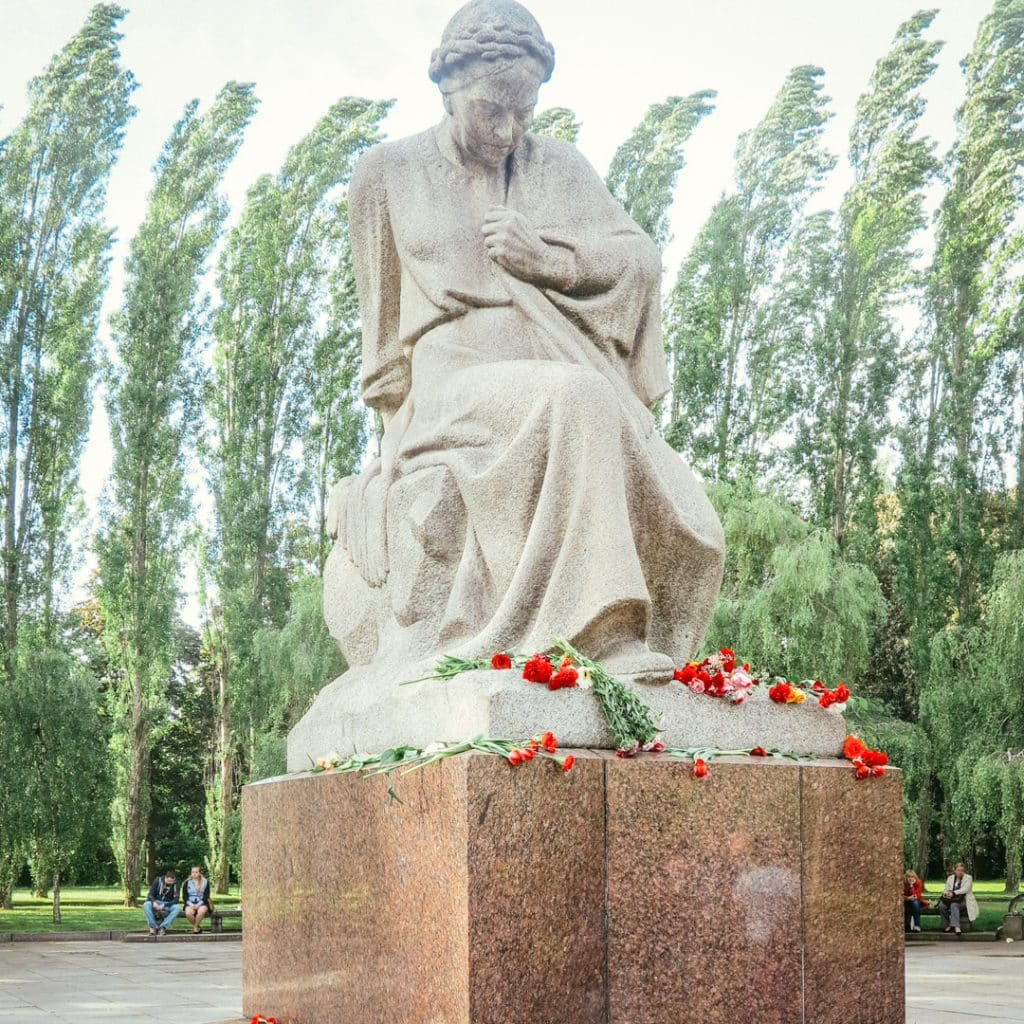 Motherland at the Soviet War Memorial in Berlin