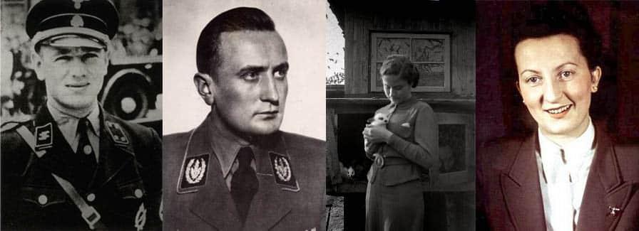 Hitler's Chauffeur, Erich Kempka - Hitler Youth leader, Artur Axmann - Martin Bormann's secretary, Else Krüger - Hitler's secretary, Gerda Christian