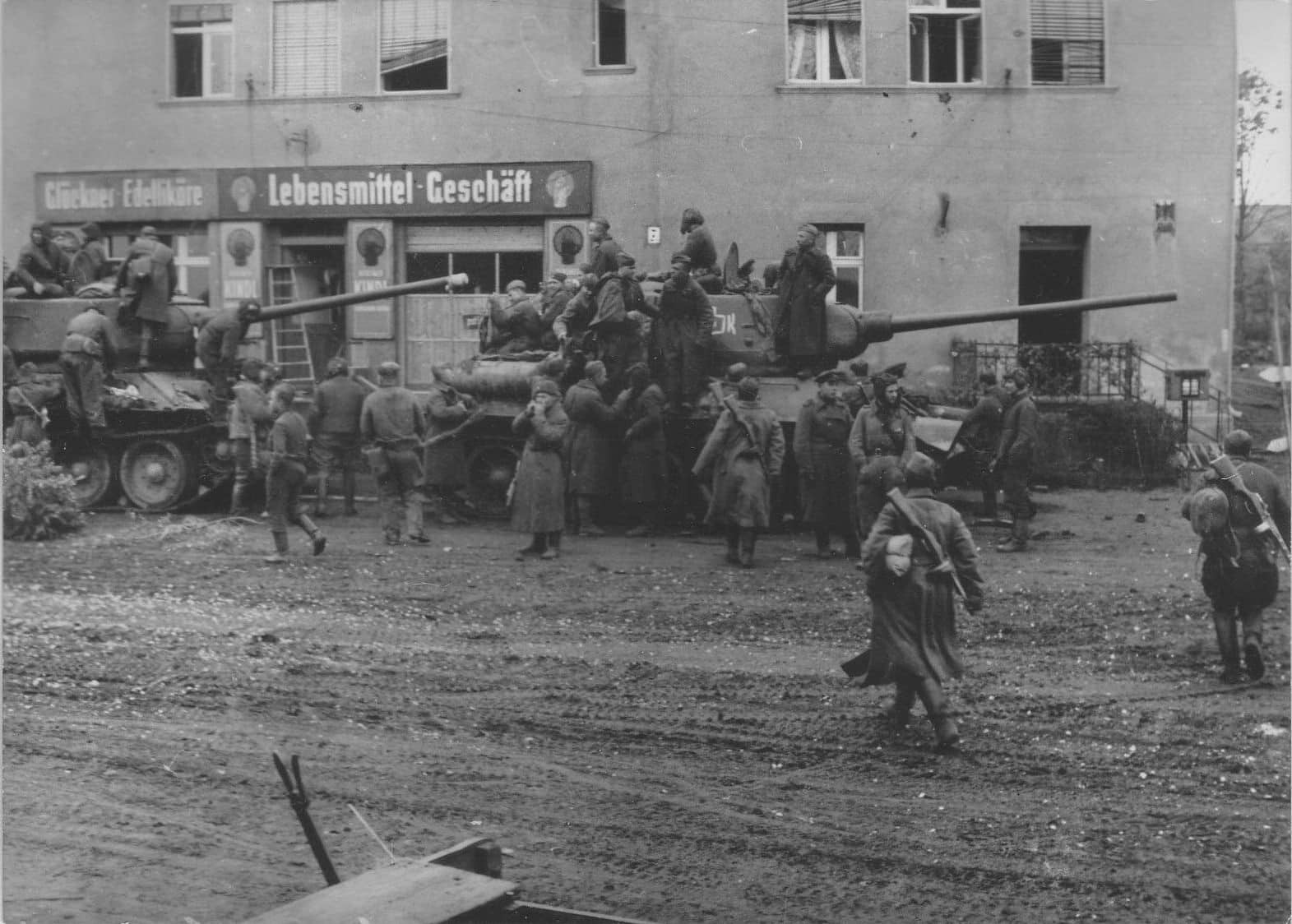 2rd Guards Tank Army in the Berlin operation 1945