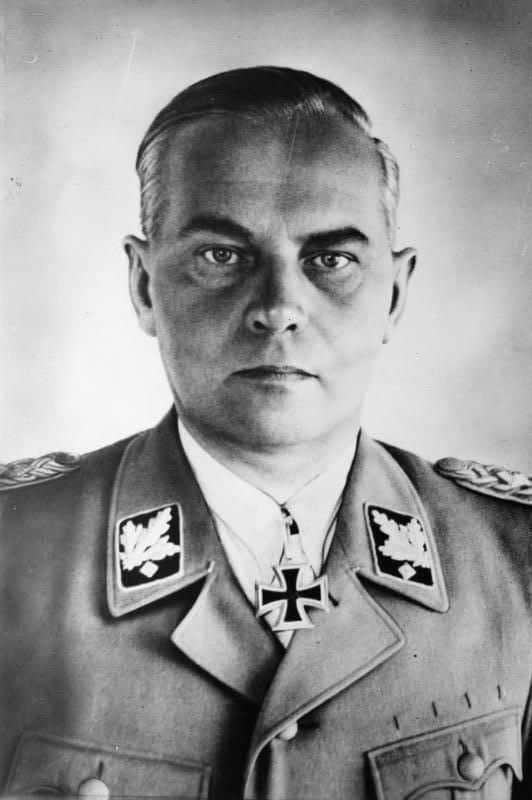 Battle of Berlin SS leader Felix Steiner