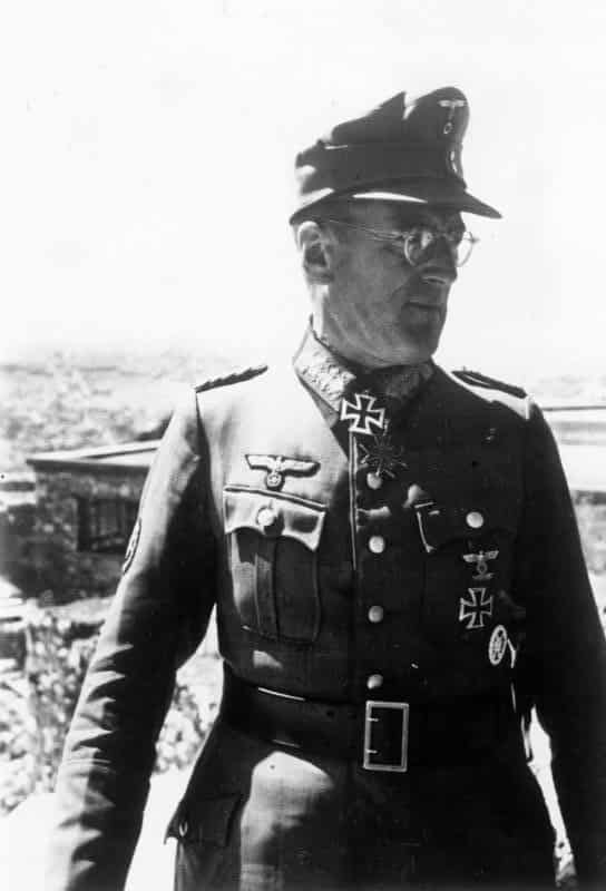 Ferdinand Schörner - commander of Army Group Centre for the Battle of Berlin