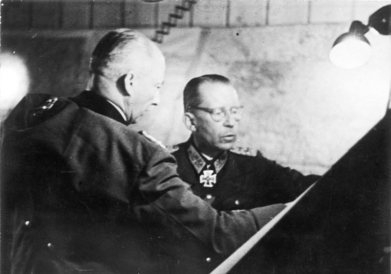 General Gotthard Heinrici - Commander of Army Group Vistula in the Battle of Berlin