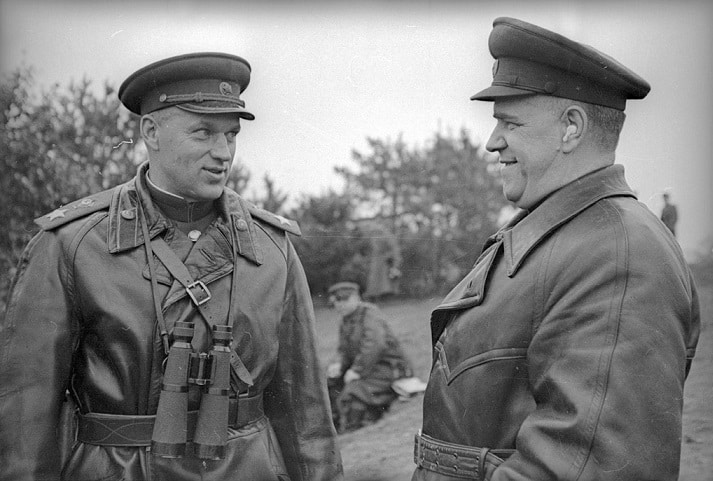 Konstatin Rokossovsky - Commander of the 2nd Belorussian Front for the Battle of Berlin