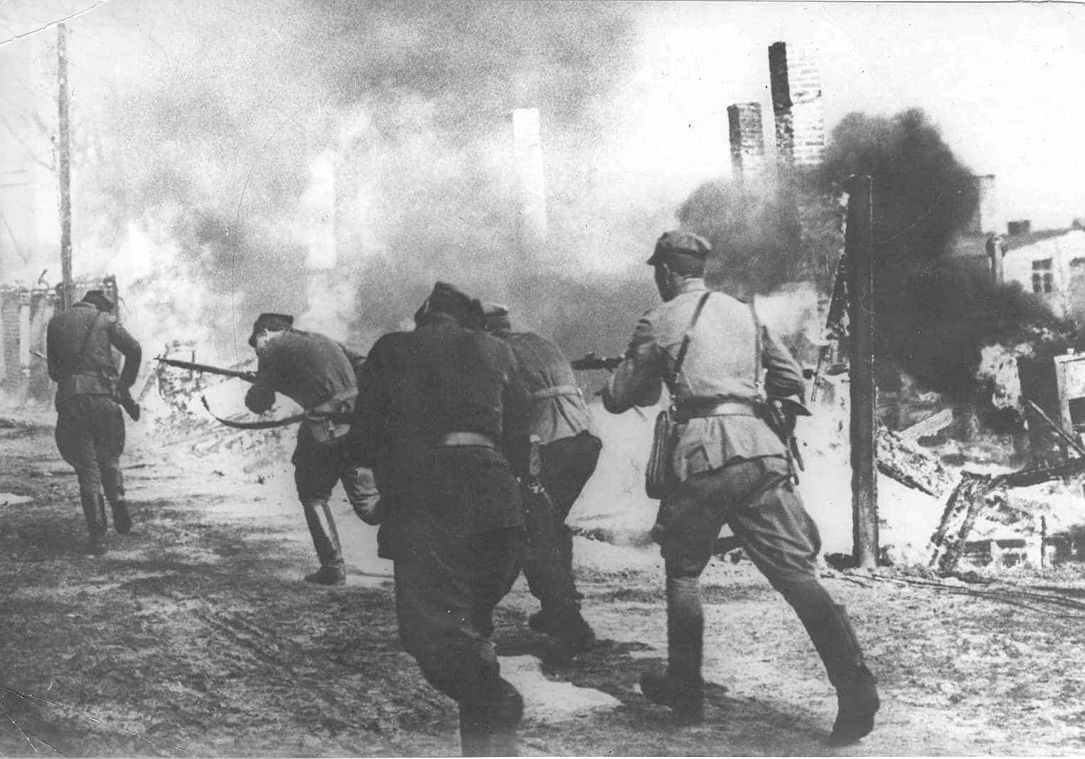 Much of the fighting on May 1st 1945 in the western areas of Berlin was conducted by Polish infantry units