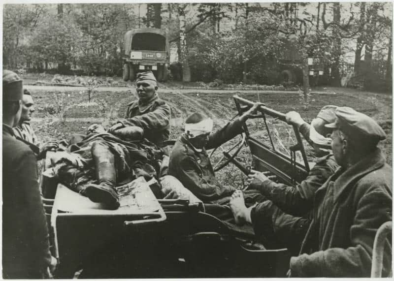 Red Army wounded