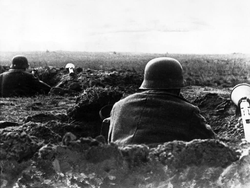 German defenders of the 9th Army near Seelow Heights