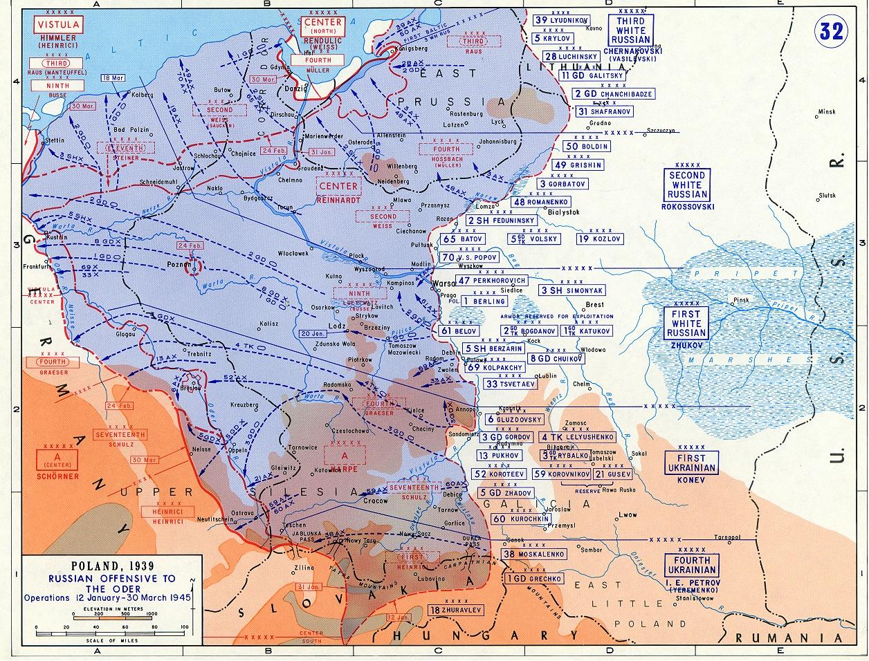 The Vistula-Oder Campaign