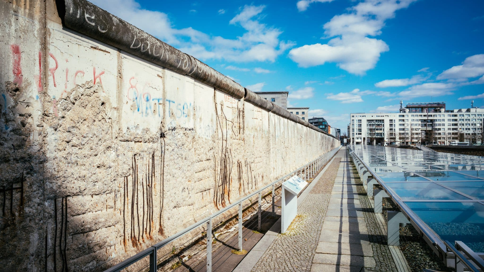 Berlin Wall at Topography of Terror