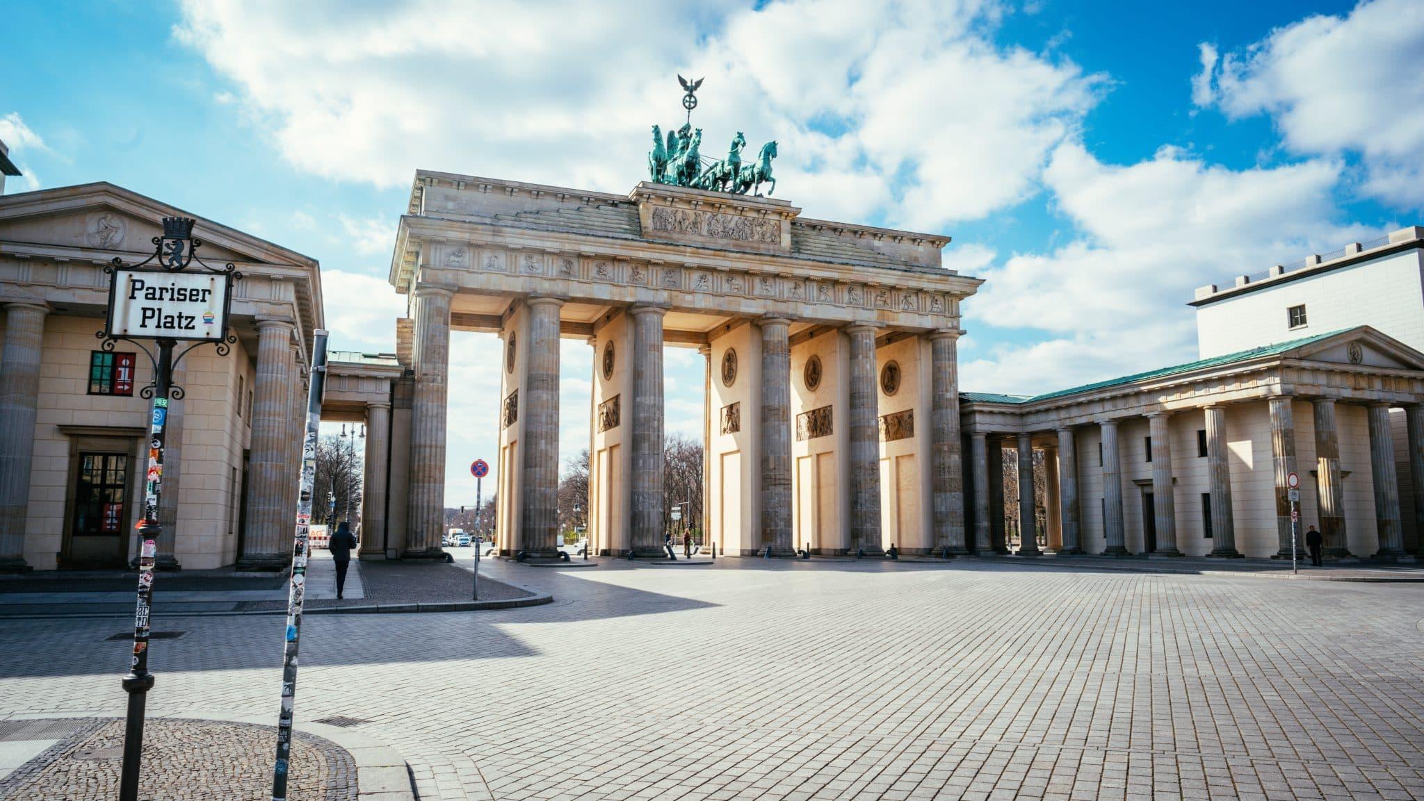 Brandenburg Gate from Pariser Platz