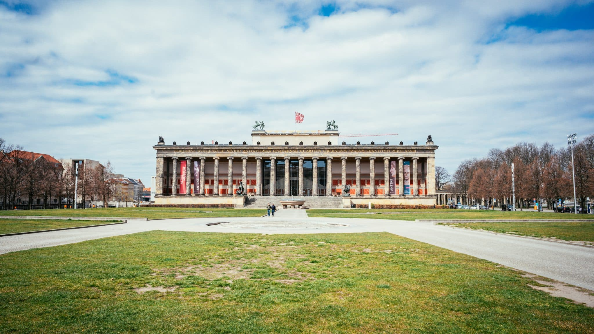 Altes Museum on Berlin's Museum Island