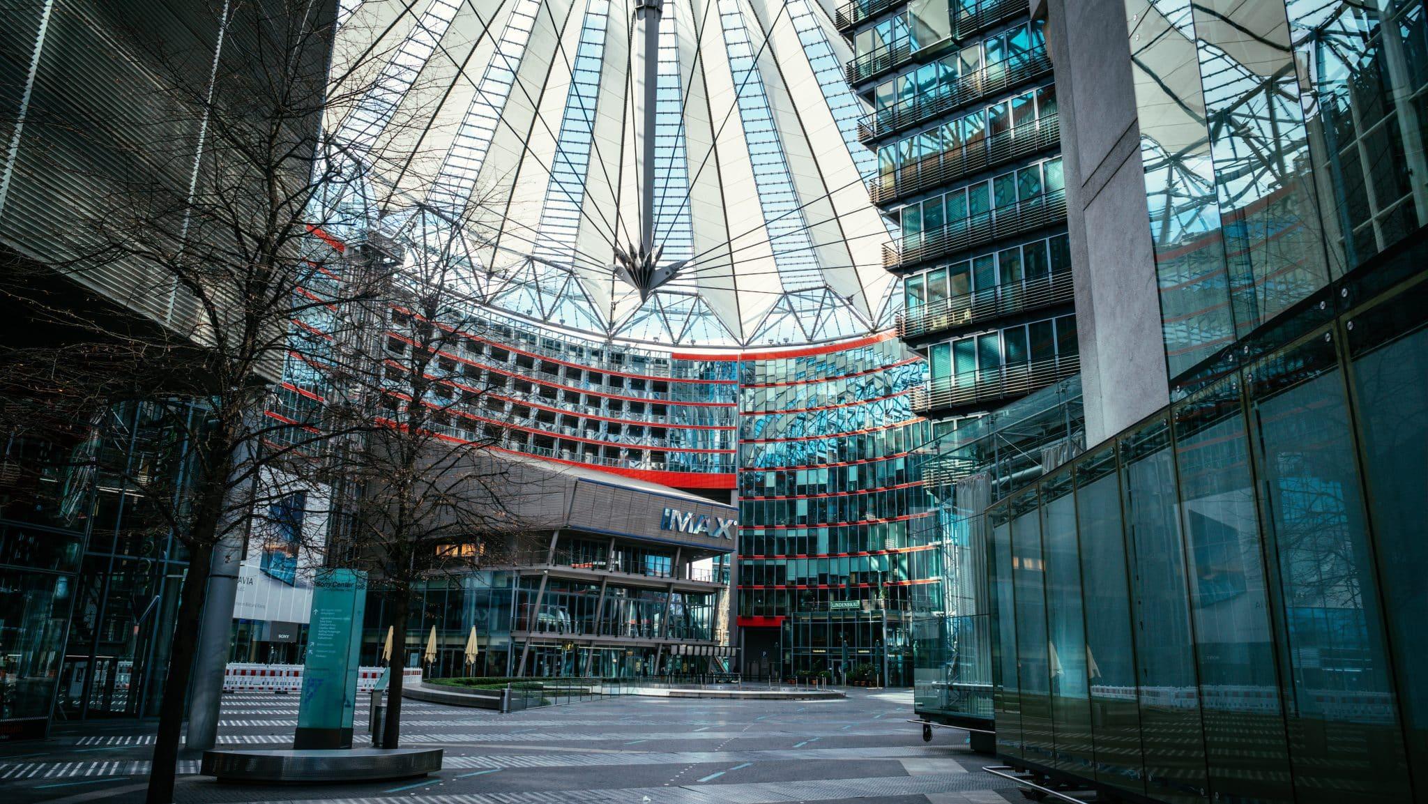 Potsdamer Platz and the Sony Centre