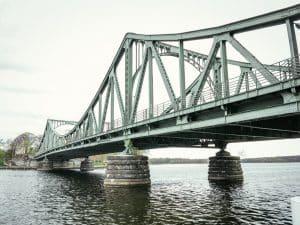 The Glienicke Brücke - the Bridge of Spies