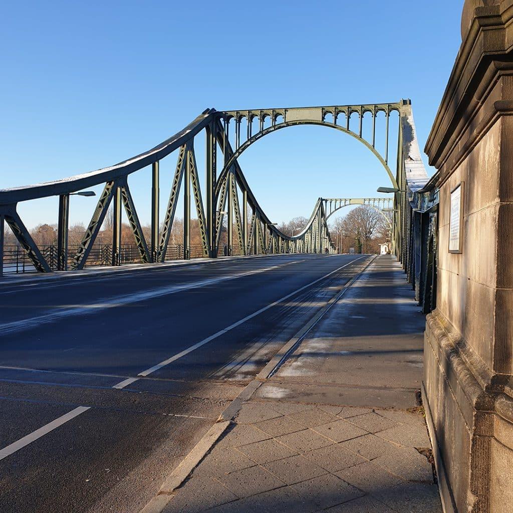 View across the Bridge of Spies