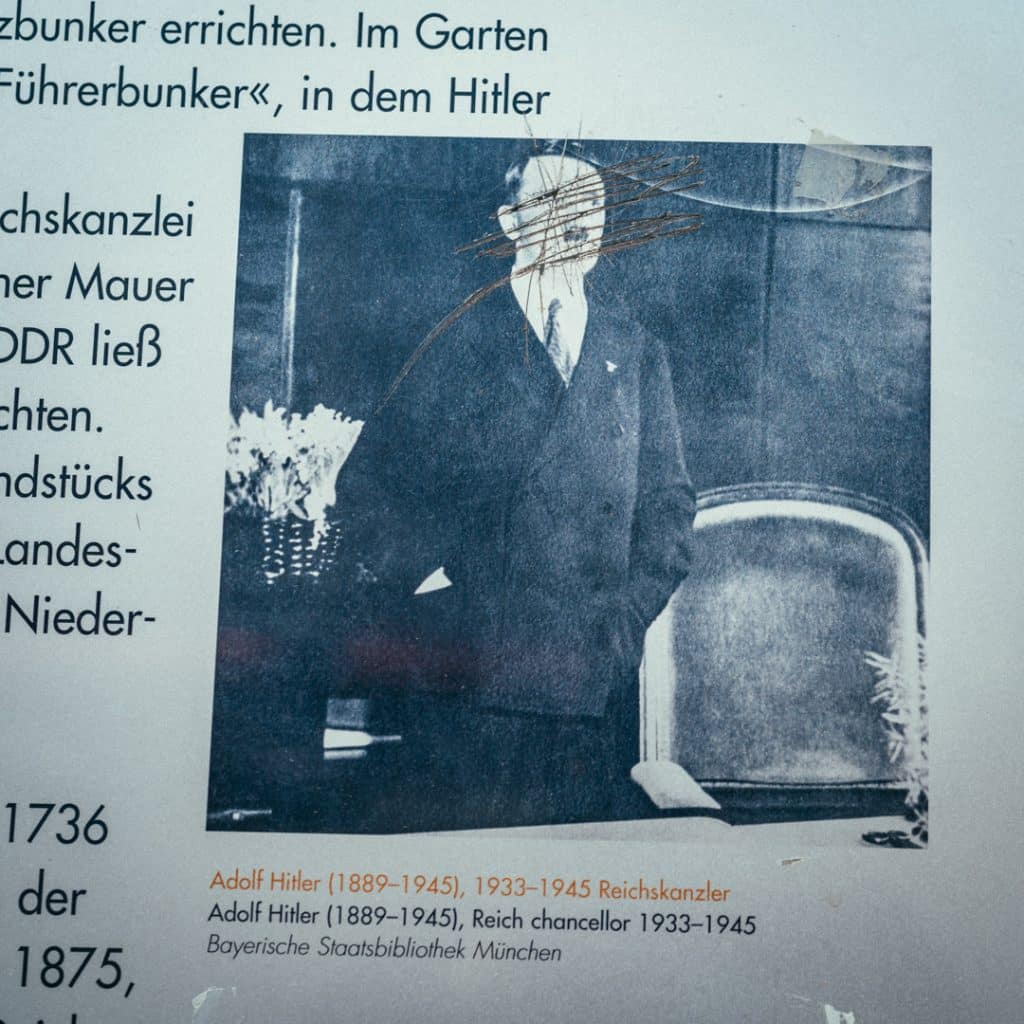 Adolf Hitler on Wilhelmstrasse